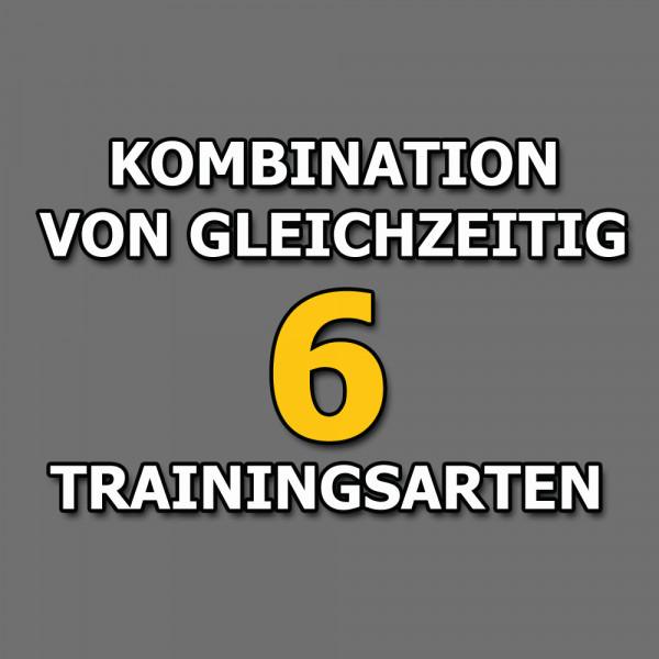 Isokinator-Training ist eine Kombination von 6 Trainingsarten gleichzeitig
