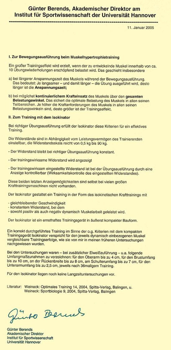 Isokinator-Gutachten-Leibniz-Uni-Hanover