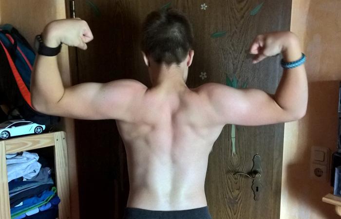 Bild 2 mit tollen Resultaten durch Isokinator-Training nach nur 2 Wochen
