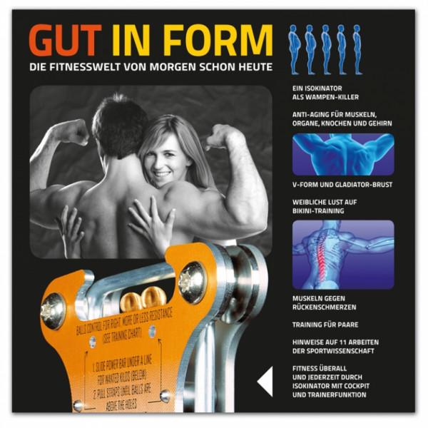 GUT IN FORM - Sonderauflage: Das Isokinator Blackbook der Koelbel-Trainingsforschung