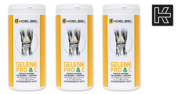 Gelenk Pro & C - die Gelenknahrung von Koelbel im 3er-Pack