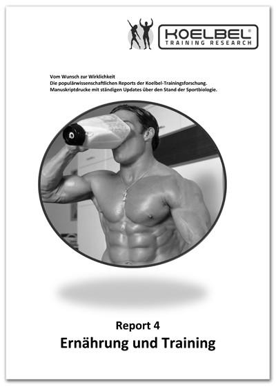 Body-Report 4 - Ernährung und Training