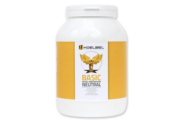 BASIC - neutrales Muskelaufbau-Protein aus 4 Komponenten