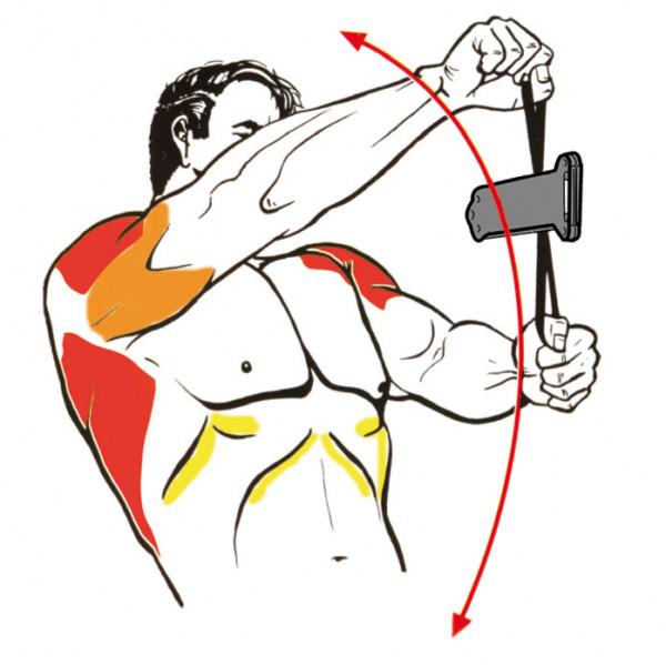 Eine neue Isokinator Übung für Schulter und Lat gleichzeitig