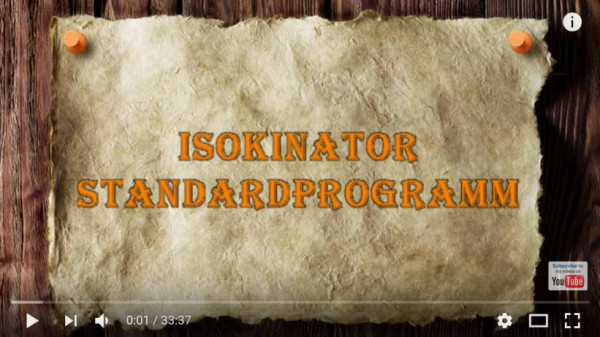 Isokinator-Standardprogramm-Youtube-Video