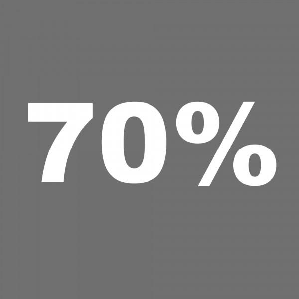 Training immer mit 70% der Maximalkraft