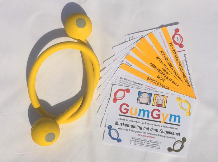 Training mit dem GumGym - Kugelkabel für jung und alt