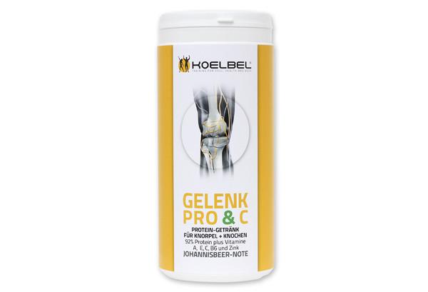 Gelenk Pro & C - Protein-Vitamin-Getränk für Knorpel und Knochen