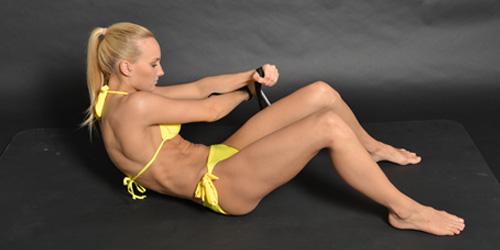 Bauchmuskel-training-Frau-Isokinator-Lady-500
