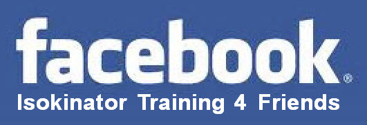 Isokinator Training 4 Friends die Facebook Gruppe