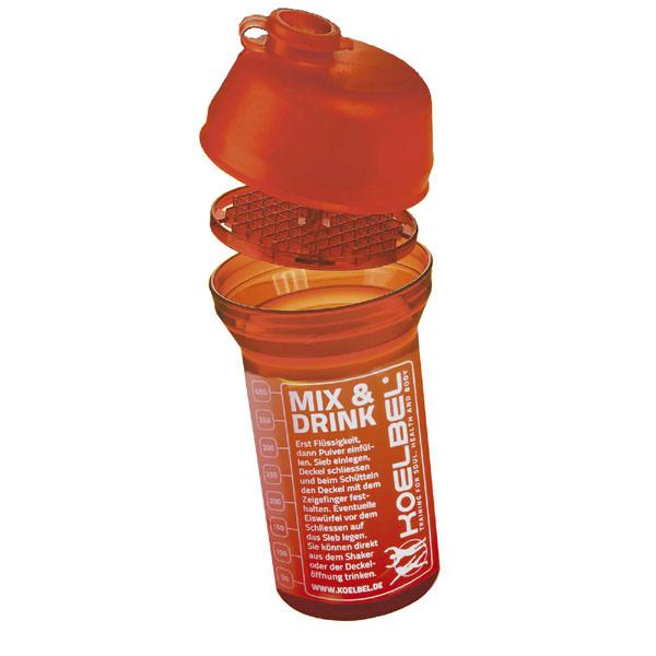 Mix & Drink Shaker mit eingebautem Schlagsieb