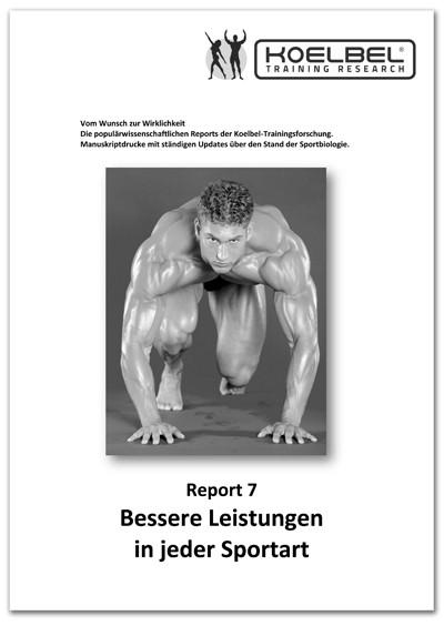 Gert F. Koelbel Body Report 7 Besser in jeder Sportart