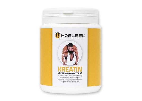 KREATIN - Monohydrat erhöht die körperliche Leistung bei Schnellkrafttraining