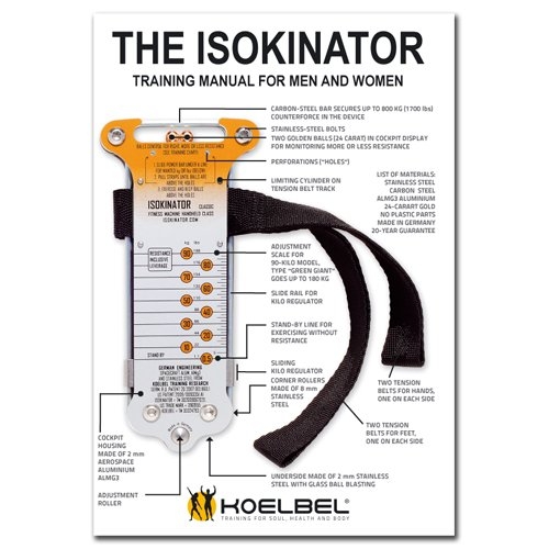 Isokinator Training Manual  Instruction  Koelbel Training